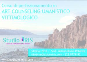 Corso di Perfezionamento in Art Counseling Umanistico Vittimologico